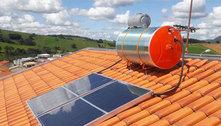 Alta na conta de luz se reflete na procura por aquecedores solares