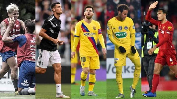 Aquela velha discussão entre quem é o melhor na atualidade, Messi ou Cristiano Ronaldo, não entra aqui. Listamos a seguir, como base na seleção feita pela Bleach Reporter, qual jogador é melhor em cada altura (do 1,60 até 2m) em atividade hoje em dia. Confira!