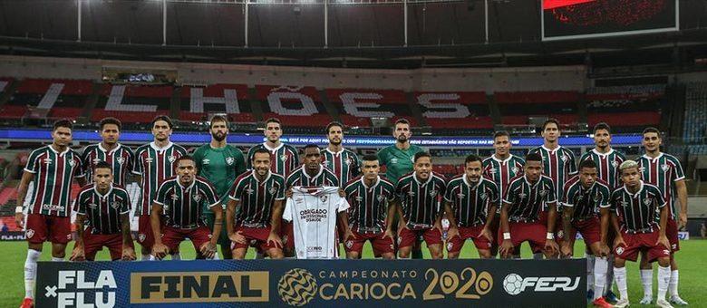 Já o Fluminense tem seu elenco avaliado em R$ 281 milhões