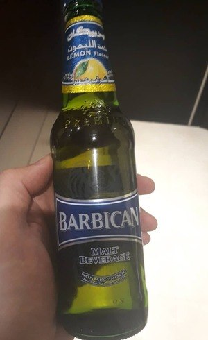 Cerveja sem álcool vendida em Riad