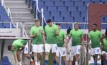 A seleção brasileira precisava apenas de um empate para se garantir nas quartas de final da Olimpíada