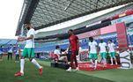 Já eliminada de Tóquio 2020, a Arábia Saudita foi a campo em busca de conquistar pelo menos um ponto para se despedir dos Jogos Olímpicos