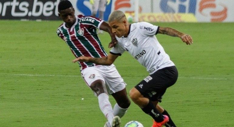 Uma das forças ofensivas do Atlético-MG, Guilherme Arana foi muito bem marcado