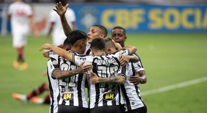 O Atlético Mineiro não teve piedade. 4 a 0 diante do Flamengo. Impressionante