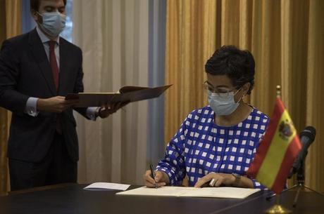 Ministro das Relações Exteriores da Espanha, Arancha Gonzalez Laya