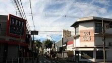 Ruas ficam desertas em Araraquara (SP) nas primeiras 24h de lockdown