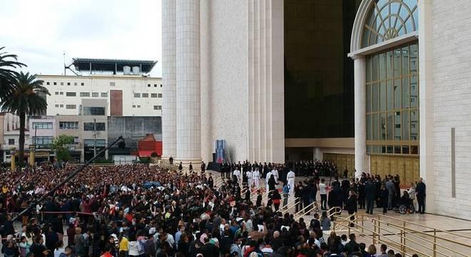 Celebração pelo 4º aniversário do Templo teve presença de 20 mil pessoas