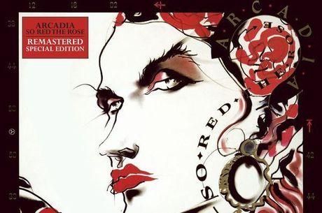 Capa do disco So Red The Rose