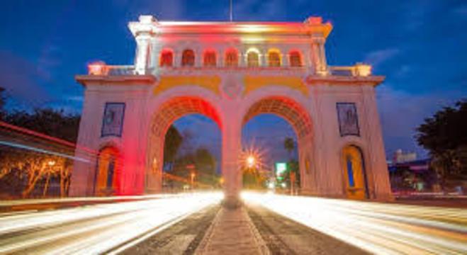 Cartão Postal dos Arcos de Guadalajara