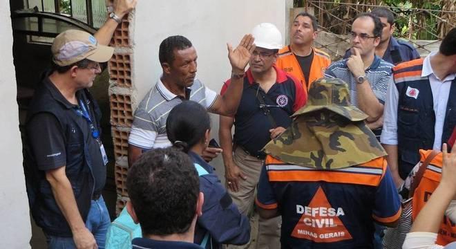 Equipes da CPRM atuam em conjunto com MP, Prefeituras e Defesa Civil