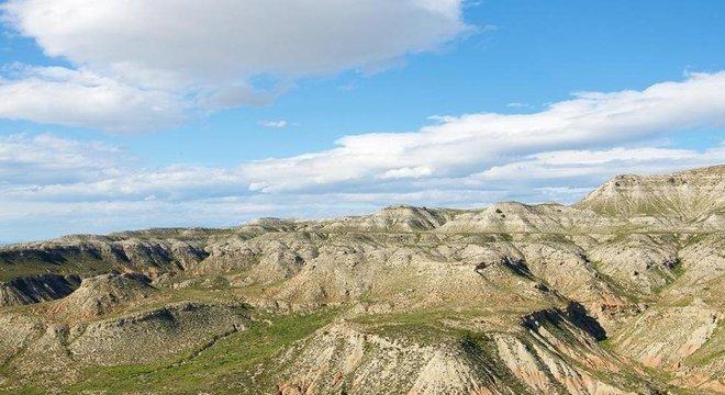 Há esforços para reflorestar a vegetação mesmo em áreas secas como o interior da Espanha