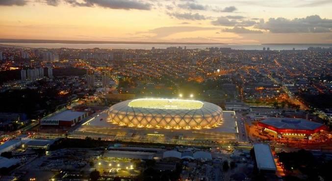 Arena da Amazônia poderia pintar como quinta sede da Copa América