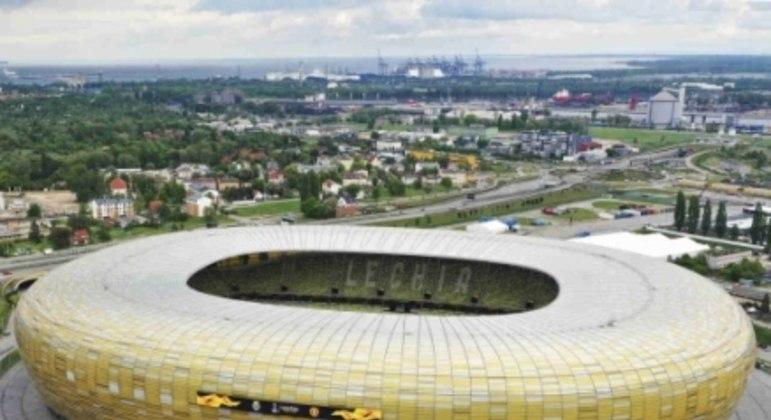 Arena Gdansk, em Gdansk, na Polônia