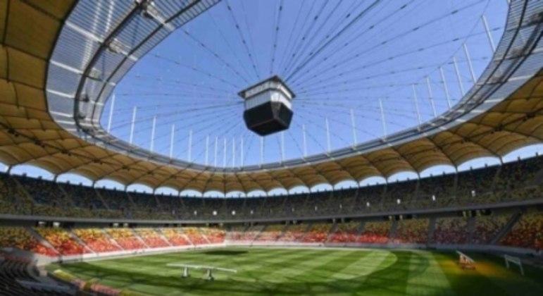 Arena Nacional, em Bucareste, na Romênia