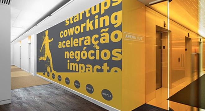 O Arena Hub fica dentro do Allianz Parque, estádio do Palmeiras