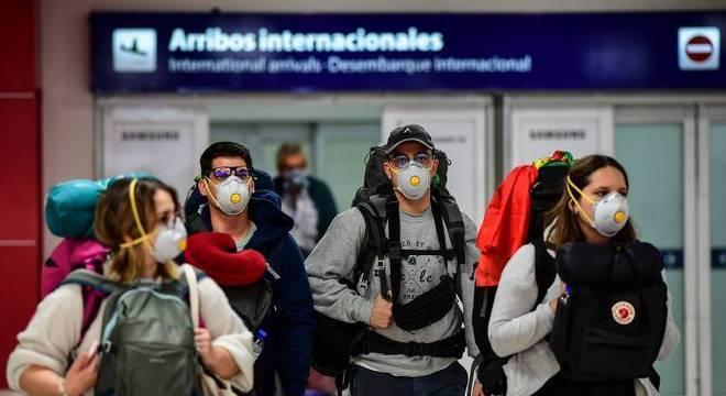 Sem voos comerciais na Argentina. Só a partir de primeiro de setembro