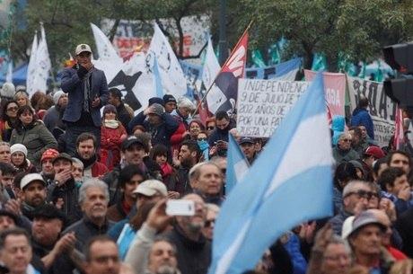 População da Argentina sempre foi combativa