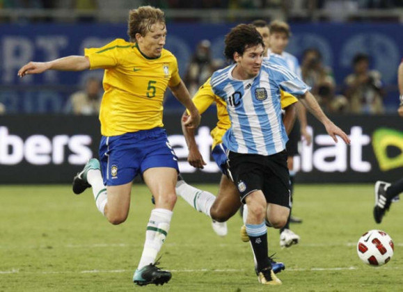 Argentina 1 x 0 Brasil - 17/11/2010 – Amistoso
