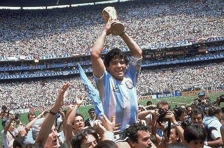 """Auge de Maradona coincide com aumento de """"Diegos"""" no Brasil"""