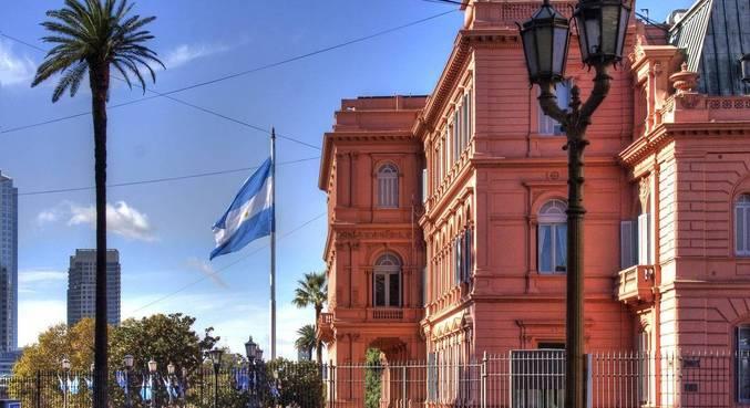 Casa Rosada, sede da Presidência da República e do Museu da Casa do Governo