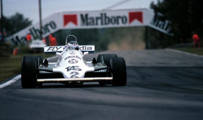 Argentina - Carlos Reutemann - GP da Bélgica 1981.