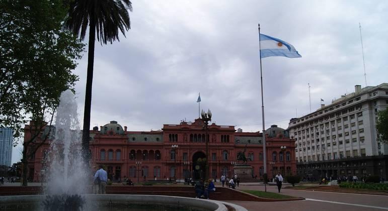 Casa Rosa, sede do governo argentino