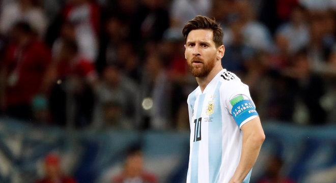 Messi na derrota da Argentina para a Croácia 6e1219011bd96