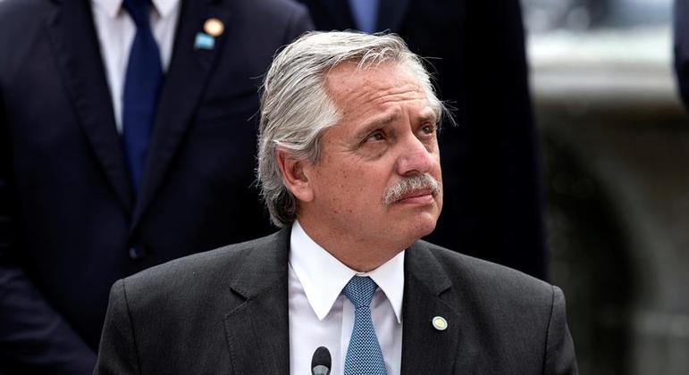 Presidente da Argentina ,  Alberto Fernández