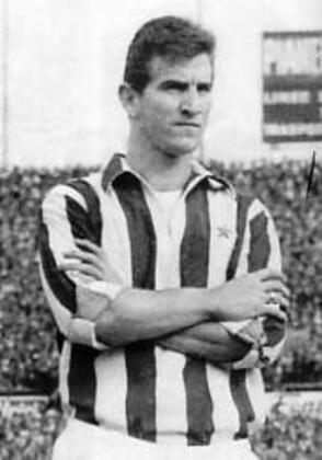 Armando Miranda - atacante - 1962/1963 - 17 jogos e 12 gols - Clubes no Brasil: Corinthians e Flamengo