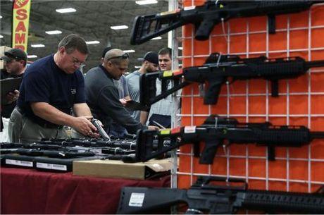Estande de armas nos Estados Unidos