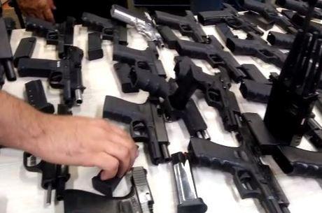 Mercado ilegal de armamento vem se sofisticando
