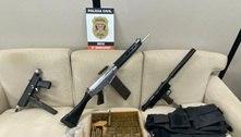 Polícia prende membros de facção criminosa e descobre arsenal em SP