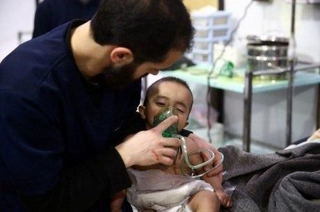 Na Síria, bebê foi vítima de ataque com armas químicas