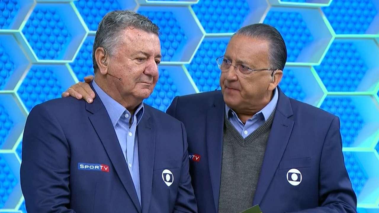 Arnaldo Cesar Coelho se aposentou como comentarista para tratar de câncer na próstata