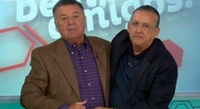 Parceria : Arnaldo César Coelho e Galvão Bueno