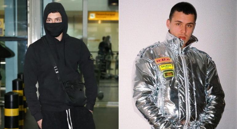 Áron Piper desembarcou no Brasil nesta sexta-feira (28). O ator e cantor de origem alemã chegou a São Paulo e foi recebido por vários fãs