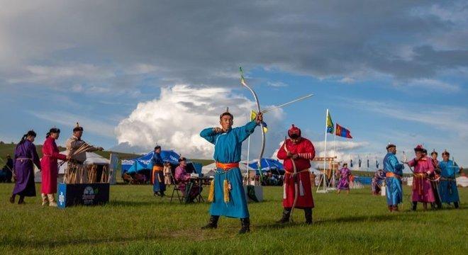 O Festival Naadam é uma das datas mais importantes do calendário mongol