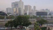 São Paulo registra pancadas isoladasde chuva e até granizo