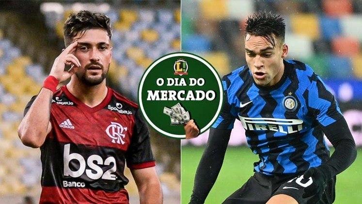 Arrascaeta acerta o seu futuro no Flamengo após clausula no contrato permitir negócio. Lautaro Martinez está perto perto de renovar o seu contrato com a Internazionale e selar o seu futuro na Itália. Tudo isso e muito mais no Dia do Mercado de terça-feira. (por Redação São Paulo)
