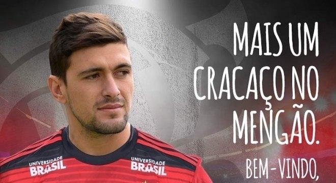 Arrascaeta chega ao Flamengo como a contratação mais cara do Brasil