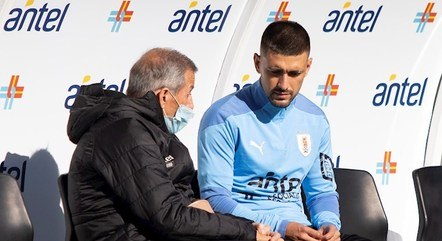 Arrascaeta está treinando com a seleção uruguaia
