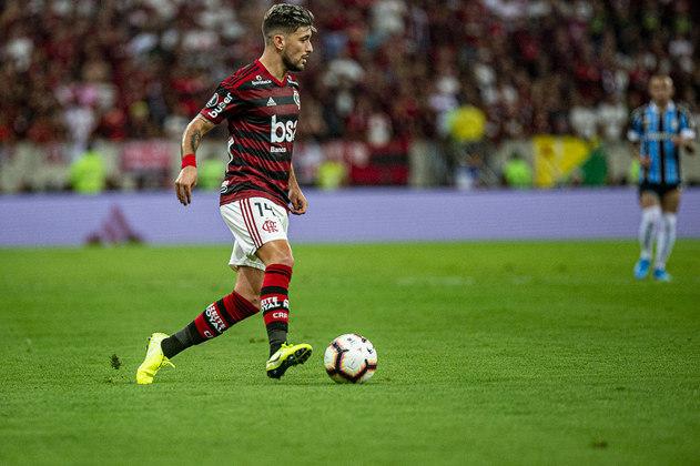 Arrascaeta - Flamengo - 26 anos - meia - uruguaio