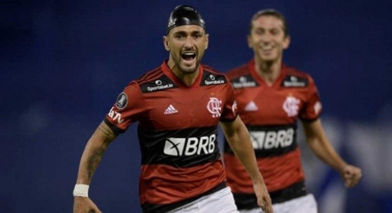 Arrascaeta marcou o gol da vitória sobre o Vélez, pelo Grupo G da Libertadores