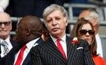 7º Arsenal (Inglaterra) - Stan Kroenke - 10,7 bilhõesde dólares (R$ 58,9 bilhões)