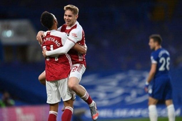 Arsenal: Emile Smith Rowe (21 anos) - Posição: meia  - Valor de mercado: 18 milhões de euros