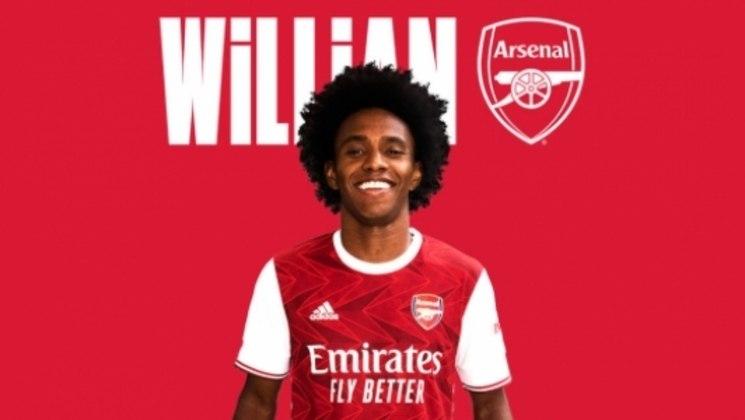 ARSENAL - Tirar Willian do Chelsea foi um dos principais investimentos do Arsenal, que gastou 34 milhões de euros (cerca de R$ 212,5 milhões) em reforços. Assim abre o top 10.
