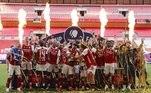 O sábado (1º) do futebol europeu foi marcado por dois títulos— na Inglaterra e em Portugal— e por definições do Campeonato Italiano, que vive sua última rodada neste fim de semana. Veja o que aconteceu de melhor nos principais campeonatos do Velho Continente