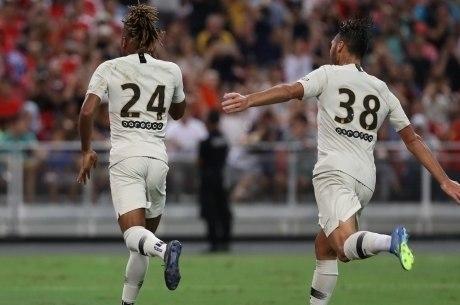 Nkunku fez o único gol do PSG na partida, de pênalti