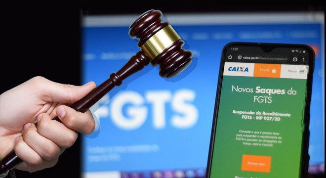Das 7.722 ações que tramitam na justiça trabalhista, 1.500 têm como tema o FGTS
