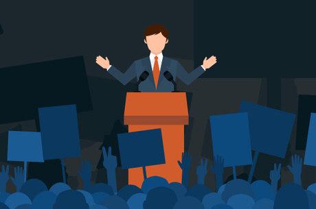 Candidatos participam de compromissos públicos